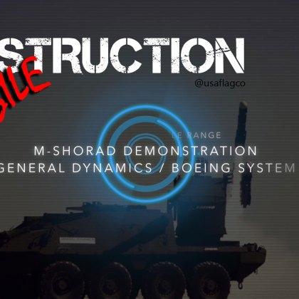 M-SHORAD Missile Demonstration (General Dynamics & Boeing System) - Amazing Destruction!