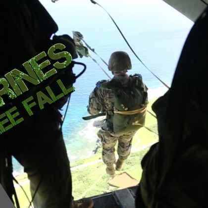 Military Free Fall Marines