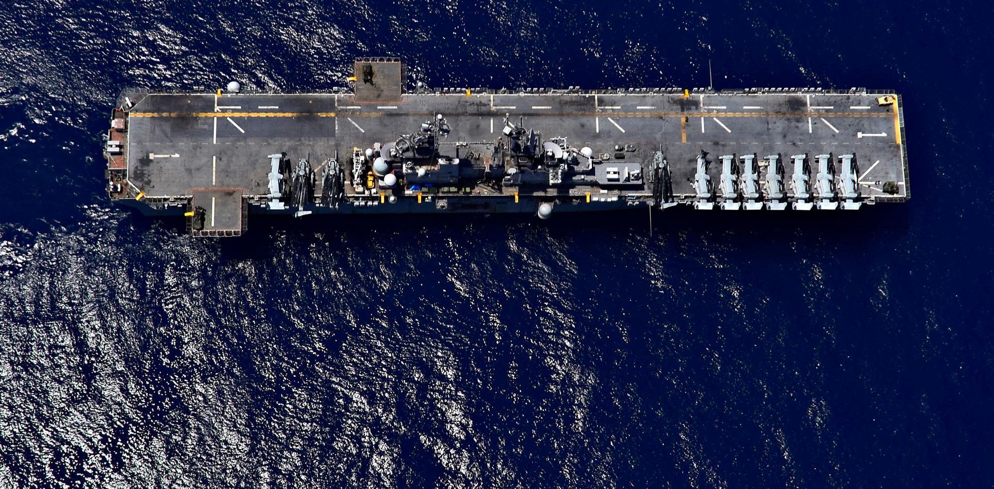 USS Wasp Battleship
