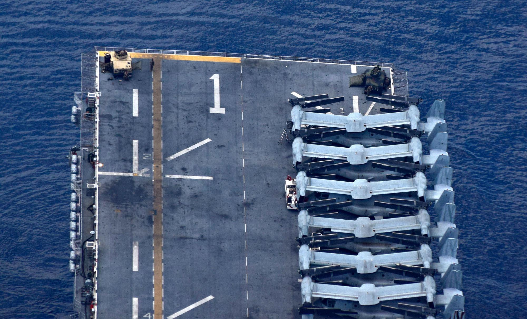USS Wasp News