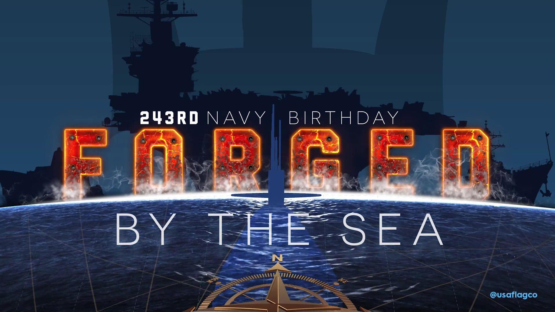 Happy 243rd Birthday, US Navy!