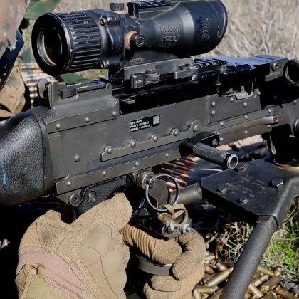Marines M240B Machine Guns