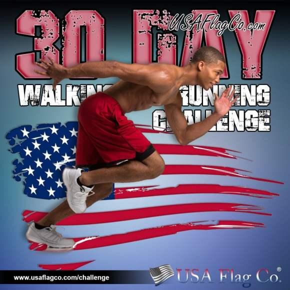 30 Day Walking to Running Challenge