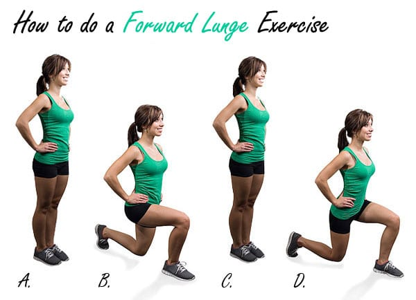 How to do a Forward Lunge Exercise