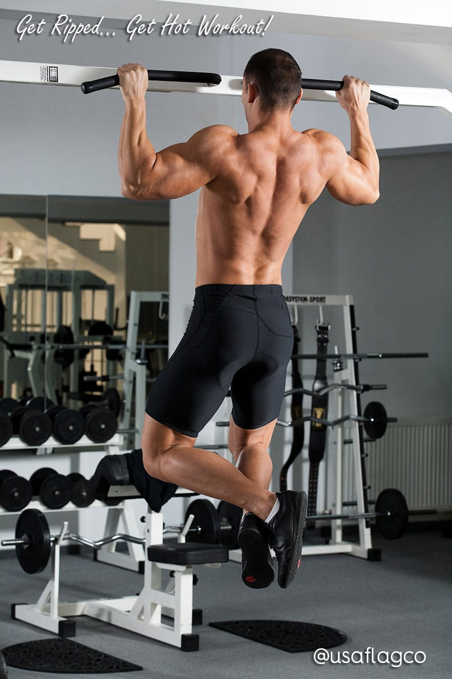 Get Ripped Pull Ups Workout for Men
