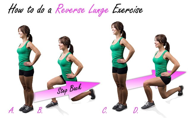 How to do a Reverse Lunge Exercise