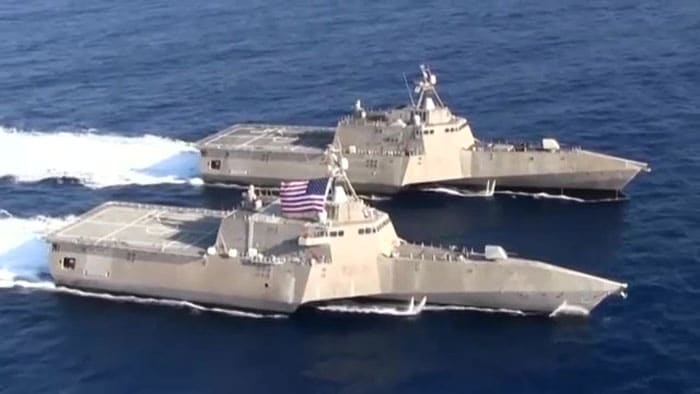 U.S. Navy Littoral Combat Ship - The Future is Now!