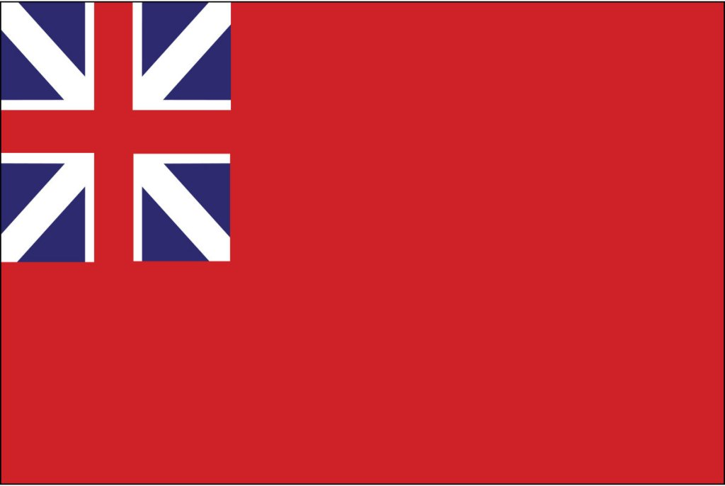 Meteor Flag of England - 1707