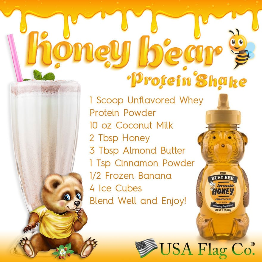 Honey Bear Protein Shake