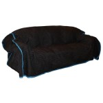 Image of quilted sofa cover