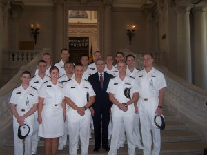 Jones and Midshipmen