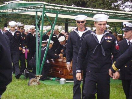 seal funeral