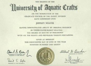 underwater-basket-weaving-degree