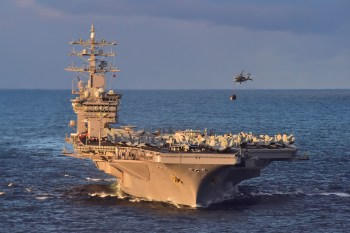 USS Dwight D. Eisenhower operations