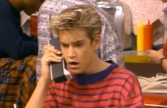 zach morris cell phone