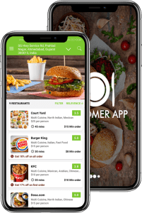 on demand food delivery app