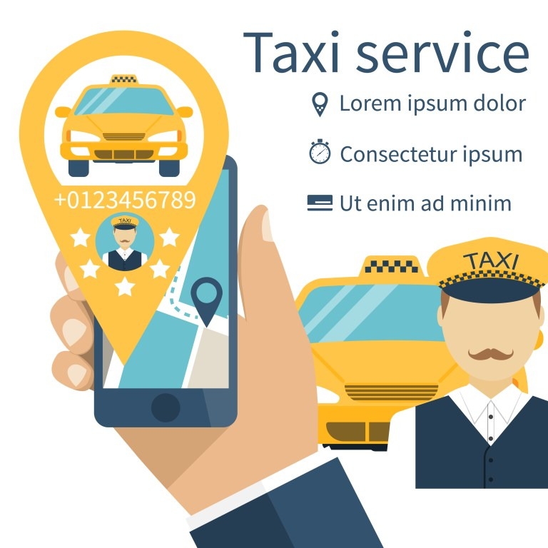 Enjoy staggering rides with Taxi service app