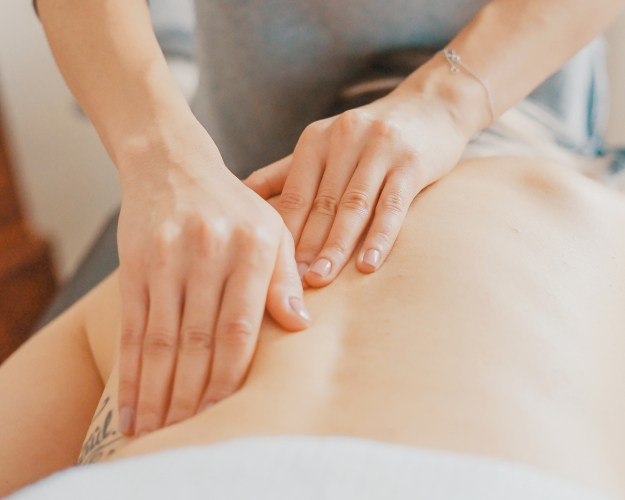 Massages can help ease pain when you're Staying Fit with Chronic Pain