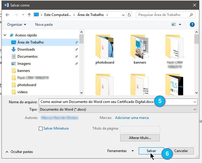 Como assinar um doc com seu e-cpf - Image 004