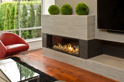L2 Linear Series Fireplace