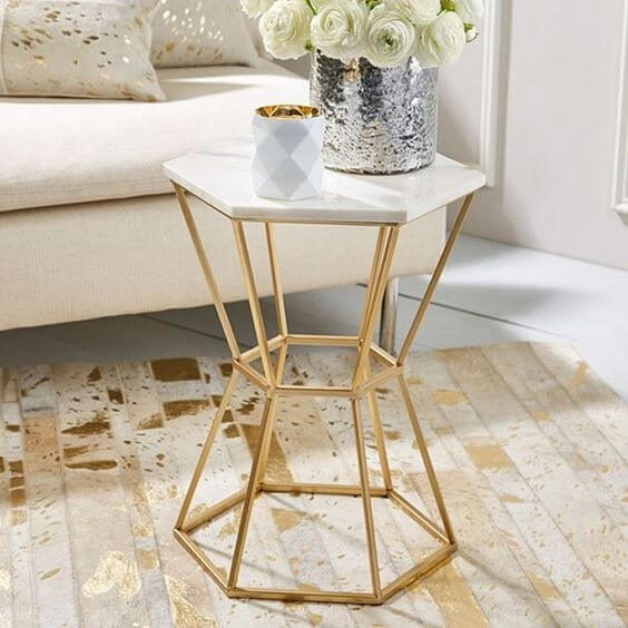 4 Ideas For Decorating With Gold