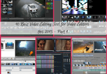 10 Best Video Editing Tool for Video Editors this 2015 - Part 1