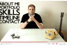 video resume cv