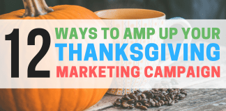 thanksgiving marketing campaign