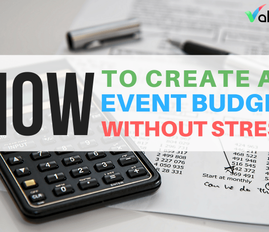 how to create an event budget valoso