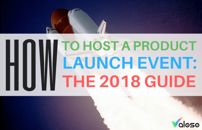 how to host a product launch event