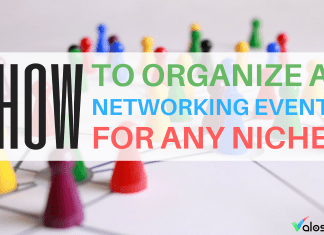 how to organize a networking event