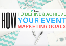 event marketing goals valoso