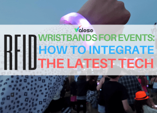 rfid wristbands for events