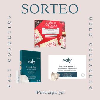 SORTEO VALY COSMETICS & GOLD COLLAGEN