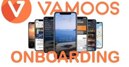 Vamoos onboarding