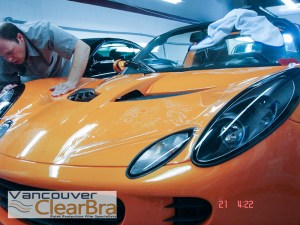 Lotus-elise-exige-Vancouver-Clear-Bra-paint-protection-film-3M-Xpel-installation-Vancouver-14