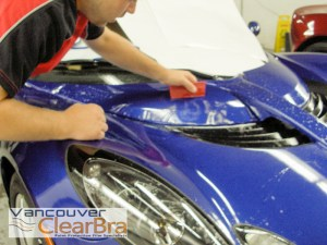 Lotus elise exige Vancouver Clear Bra paint protection film-3M Xpel installation Vancouver
