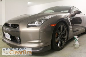 Nissan-GTR-Skyline-Vancouver-Clear-Bra-paint-protection-film-3M-Xpel-installation-Vancouver-8