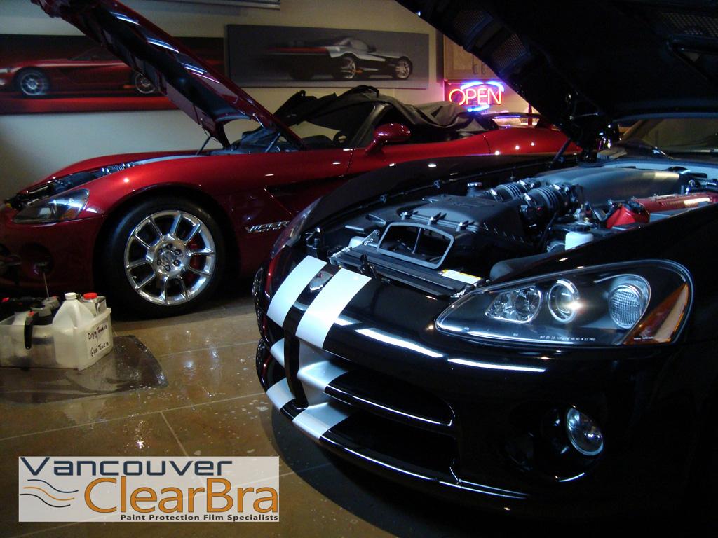 Dodge Vipers VentureShield Clear Bra Vancouver ClearBra
