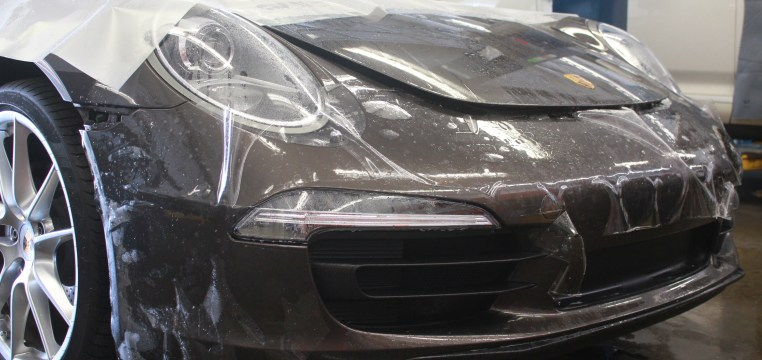 Clear Bra Paint Protection Film Coverage