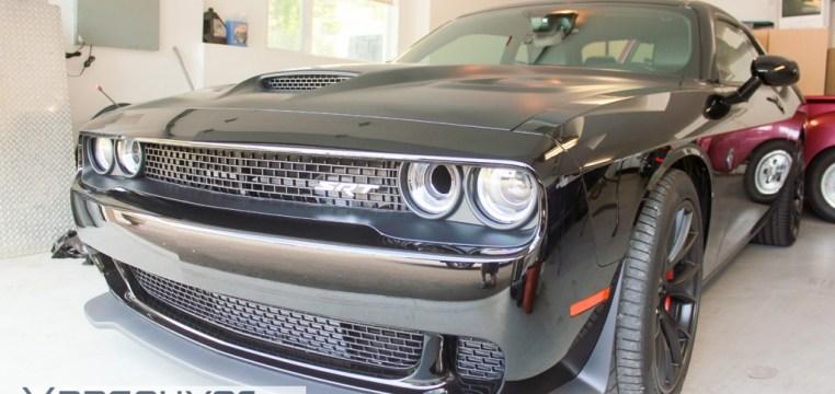 Dodge Challenger Hellcat Xpel Clear Bra