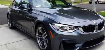 2015 BMW M3 Sedan F80 Clear Bra Vancouver ClearBra