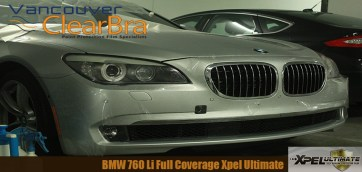 BMW 760 Li Xpel Ultimate Full Clear Bra