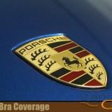 Porsche Clear Bra Coverage