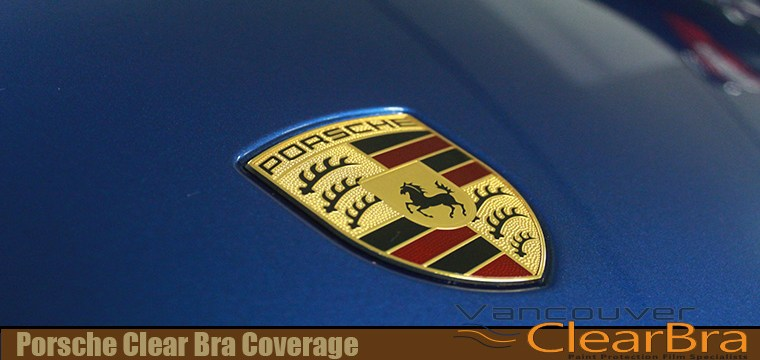 Porsche Clear Bra Coverage
