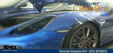 Porsche Cayman GT4 Xpel Ultimate