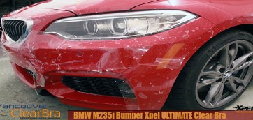 BMW M235i Xpel ULTIMATE Bumper