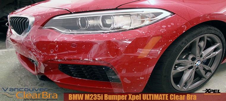 BMW M235i Xpel ULTIMATE Bumper