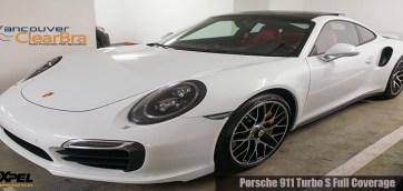Porsche 911 Turbo Xpel ULTIMATE