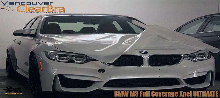 BMW M3 Xpel ULTIMATE Full Clear Bra